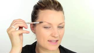 Flawless Foundation, Bold Brows and a Strong Lip Makeup Tutorial