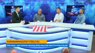 Spor Aktüel'e Kahramanmaraşspor Teknik Direktörü ve Futbolcular Konuk Oldu.