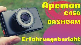 Apeman C450 Dashcam - Erfahrungsbericht & Review