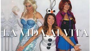 DIY Disney FROZEN Elsa, Anna & Olaf Costumes- No Sewing