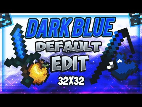 Best Blue Default Edit 32x32 Uhc Pvp Texture Pack Free Minecraft Texture Pack