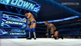 WWE'12: First Gameplay Video! w/Randy Orton, John Cena & The Miz