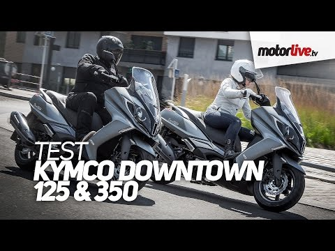 TEST | KYMCO DOWNTOWN 125 & 350