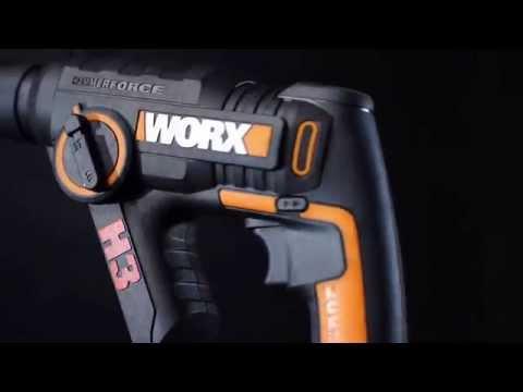 Taladro Martillo atornillador 20 V Worx H3
