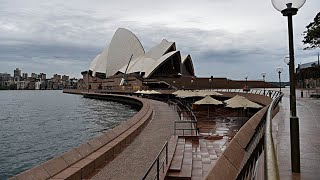 Sydney the day after the two person maximum rule