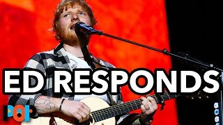 "Ed Sheeran Song ""Small Bump"" NOT Anti-Abortion"