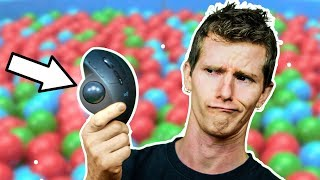 Remember these WEIRD mice?? The Trackball is back!