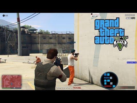 [Hindi] GRAND THEFT AUTO V   THE PRISON BRAKE HEIST#13