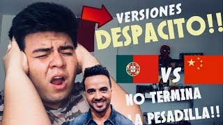Luis Fonsi - Despacito en CHINO MANDARIN!! / (Audio Versión) Luis Fonsi ft. JJ Lin | REACCIÓN