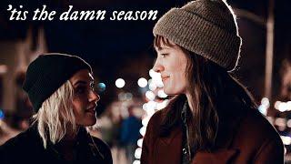 harper + abby • 'tis the damn season