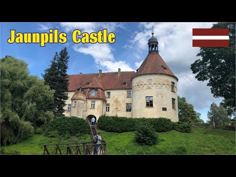 Amazing Jaunpils Castle, built in 1411 and still looking very good! Located in Latvia