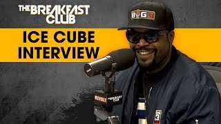 The Breakfast Club - Ice Cube On Big3 & Why He Wants To 'Kill The G.O.A.T.'