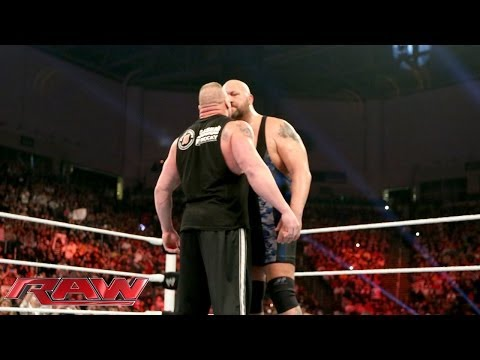 Big Show and Brock Lesnar come face-to-face: Raw, Jan. 20, 2014