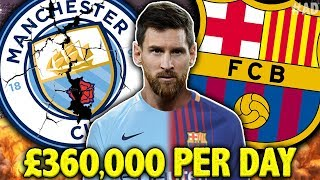 LEAKED: Lionel Messi Rejected £132M Contract From Manchester City! | #FanHour