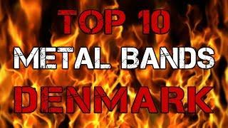 TOP-10 DANISH METAL BANDS | Топ-10 метал-групп Дании