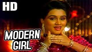 Modern Girl | Alka Yagnik, Padmini, Sudesh Bhosle   - YouTube