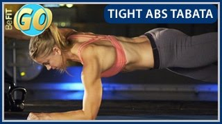 Tight Abs Tabata Workout: BeFiT GO- 10 Mins by BeFiT
