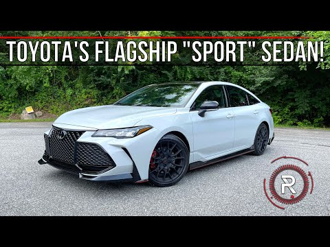 The 2021 Toyota Avalon TRD Is A Surprisingly Good Discontinued Sporty Flagship Sedan