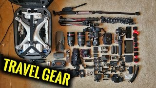 CAMERA GEAR for TRAVEL - What To Take