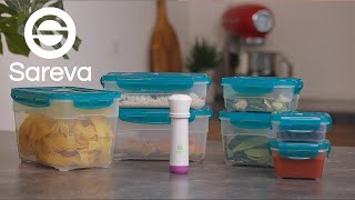 Envase Alimentos  al Vacío 8 Piezas Sareva