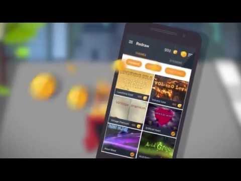 Vídeo do Redesenho Teclado Emojis Temas