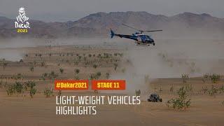 DAKAR2021 - Stage 11 - AlUla / Yanbu - Light Weight Vehicle Highlights