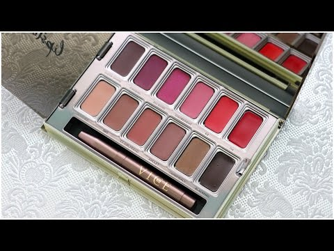 Blackmail Vice Lipstick Palette by Urban Decay #8