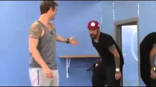 Nick Carter dança Everybody no DWTS