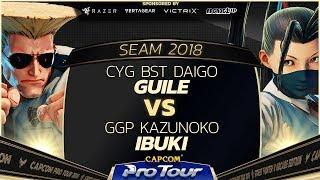 CYGBSTDaigoGuilevsGGPKazunokoIbuki-SEAM2018Day1Pools-CPT2018