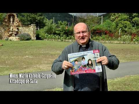 Video: Mensaje de Monseñor Cargnello por la Colecta de Caritas