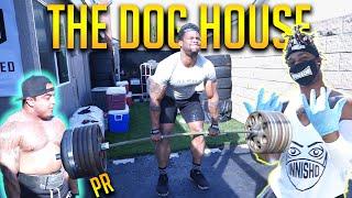 725lb Home Deadlift Battle(PR) FT. Pitbull & Big Neechi | The Dog House