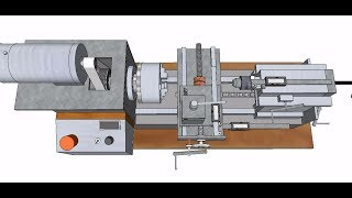 Building a lathe from industrial scrap