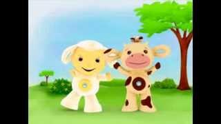 Развивающий мультфильм от Tiny Love DVDMagIQ 2 часть (12-36 мес) (с коровой и овечкой)