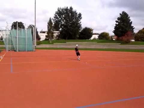 great foot ball skills off ground