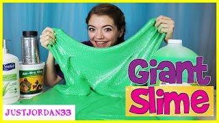 Giant Slime Making With Giant Ingredients / JustJordan33