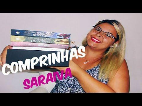 ESTOUREI O CARTÃO! | COMPRINHAS SARAIVA | Estante da Suh