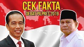 8 Cek Fakta dari Debat Pilpres: Luas Malaysia Versi Prabowo hingga Anak Jokowi Tak Lolos Tes CPNS