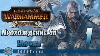 Total War: Warhammer. Прохождение за Норска #1. Воины севера.