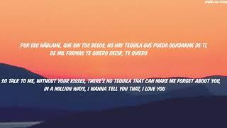 Juanes Ft Christian Nodal Tequila English Lyrics Translation