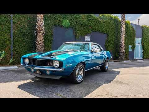 1969 Chevrolet Camaro (CC-1133887) for sale in Los Angeles, California