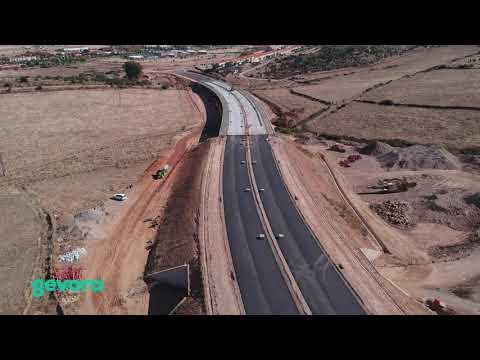Grado de avance de los trabajos desarrollados en la Ronda Sur-Este de Cáceres