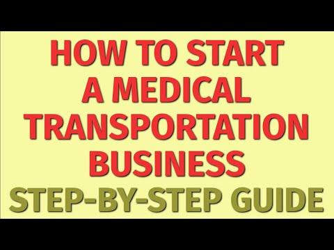 , title : 'Starting a Medical Transportation Business Guide | How to Start a Medical Transportation Business |