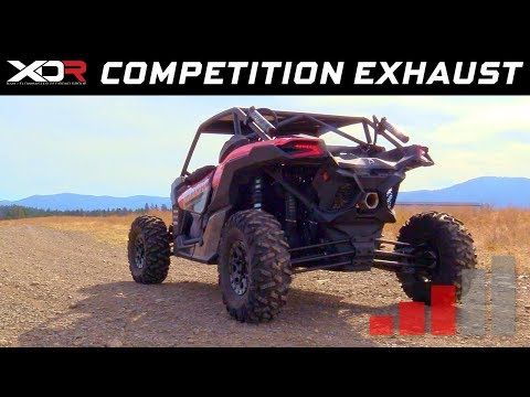2017-19 Can-Am Maverick X3 - XDR Off-Road Competition Single Exhaust System 7204