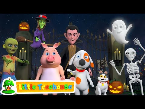 Halloween Songs | Kindergarten Nursery Rhymes | Compilation Of Videos For Kids by Little Treehouse
