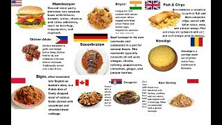 Countries And Their National Dishes