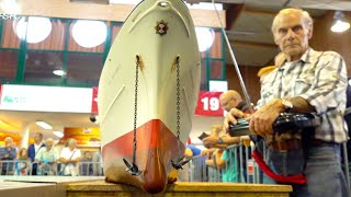 GIANT 3M LONG RC BOAT// MIND BLOWING DETAILS IN FUNCTION// EXTREM BIG MODEL SHOP IN ACTION