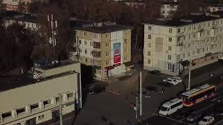 Реклама на фасадах - Витебск Фрунзе 58