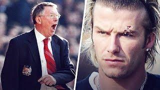 The Day Alex Ferguson Threw A Shoe At David Beckhams Head | Oh My Goal