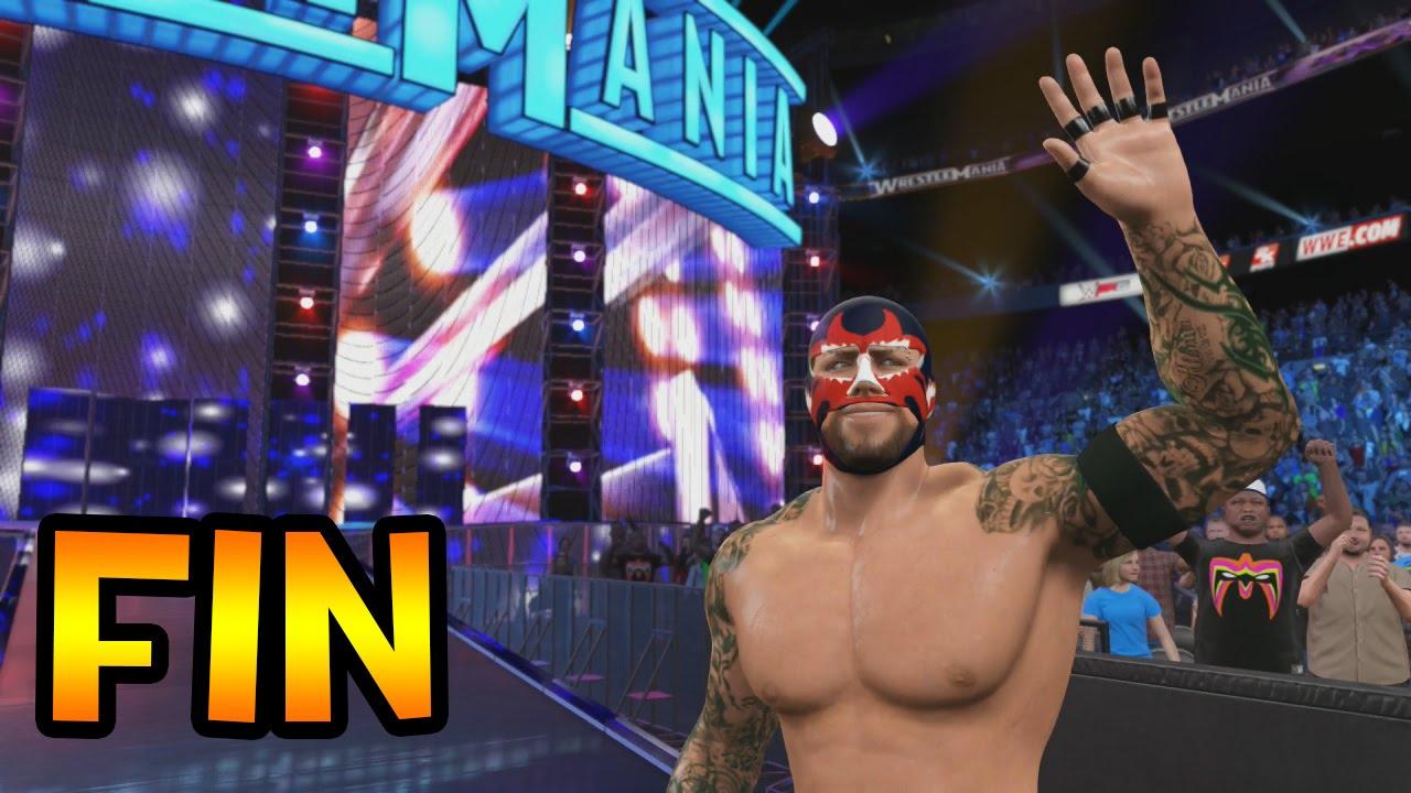 Ver WWE 2K15 – My Carrera FIN – Lucha por el WWE championship en Wrestlemania en Español Online