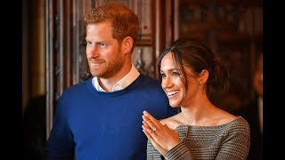 Prince Harry and Meghan Markle delight crowds in Cardiff | ITV News